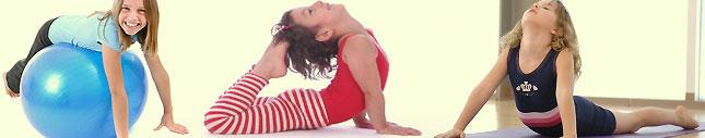 imatge de les classes de ioga per nens